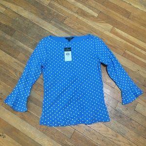 NWT Ralph Lauren polka dot shirt!